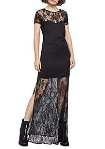 BCBGeneration Lace Maxi Dress