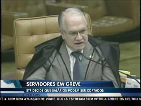 STF decide que salários dos servidores em greve podem ser cortados
