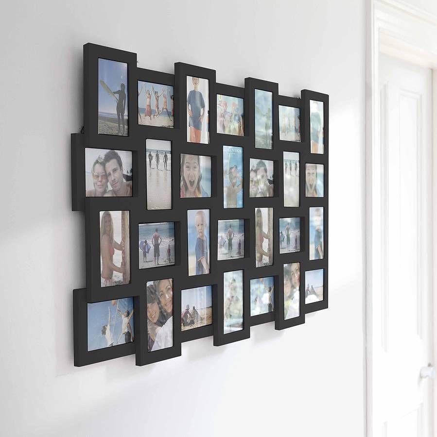 Studio 28 Multi Photo Frame Black   Decoraciones de casa y Decoración