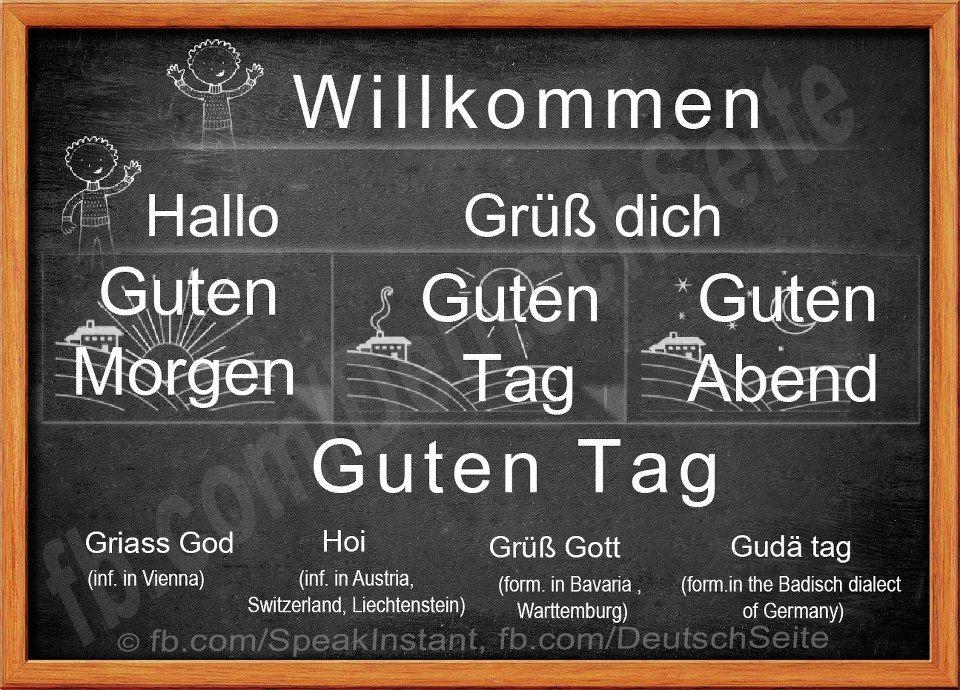 Greetings in german besessen von deutschland pinterest german greetings in german m4hsunfo