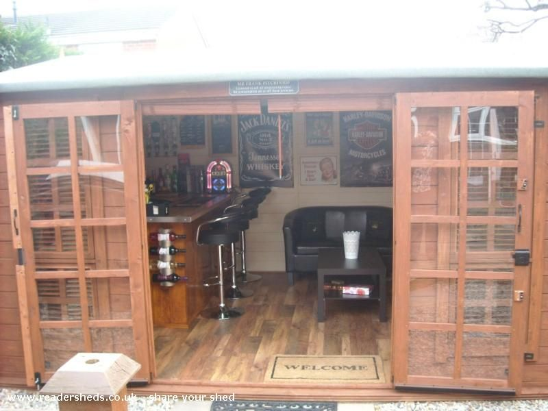 The drunken duck things i like pinterest men cave for Man cave shed plans