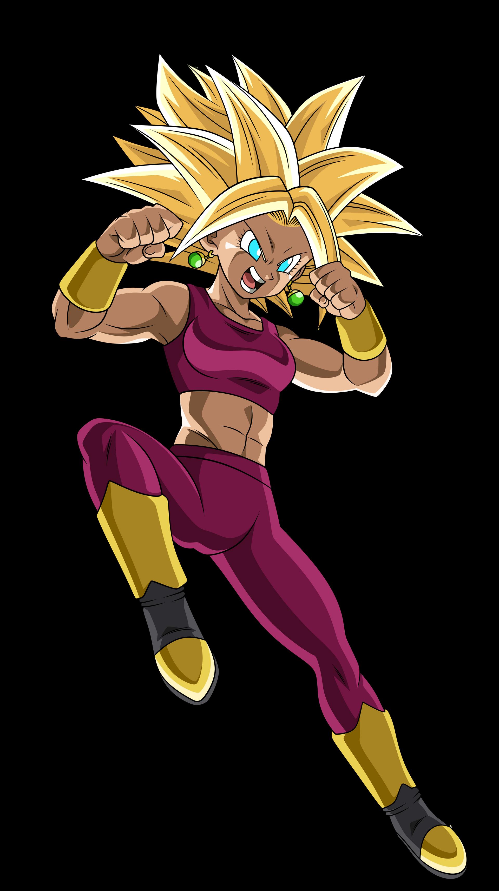 Kefla Manga Color by KarlaValdivia30   Dragon ball super