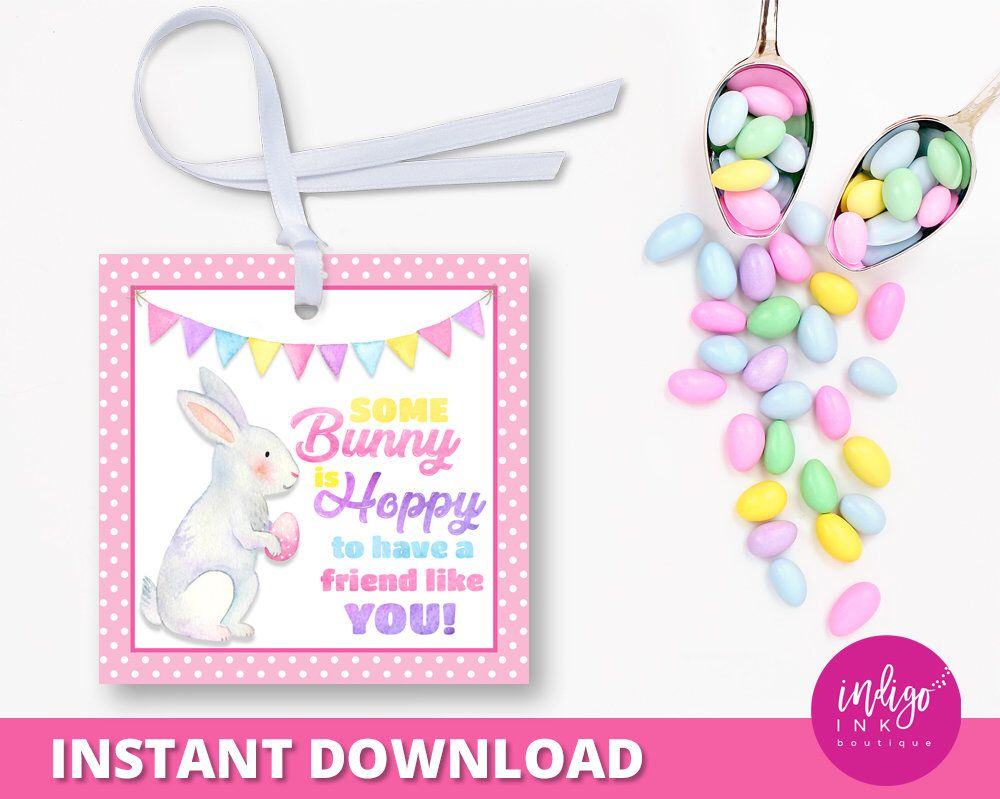 Easter gift tags for kids happy easter tags easter thank you tag easter gift tags for kids happy easter tags easter thank you tag easter tag party favor tags school treat tags instant download negle Images