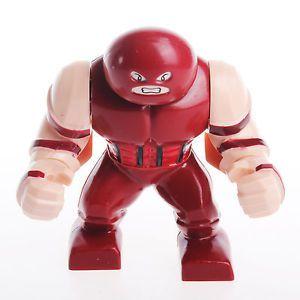 Decool Super Hero Big Juggernaut Minifigure Avengers Large Custom X Men Avengers Lego Custom Minifigures Lego Sculptures Lego Minifigs