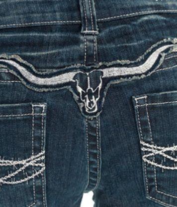 "NEW ""Cowgirl Tuff"" Longhorn Silver Jean (Coming Soon)"