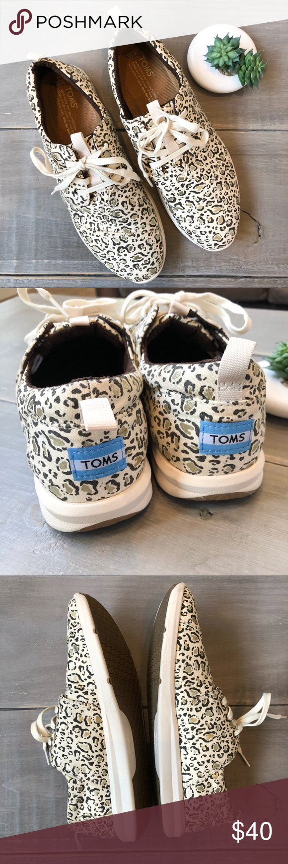 Toms Cheetah Print Sneakers (With images) Print sneakers
