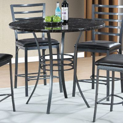 Wade Logan Braylon Counter Height Dining Table