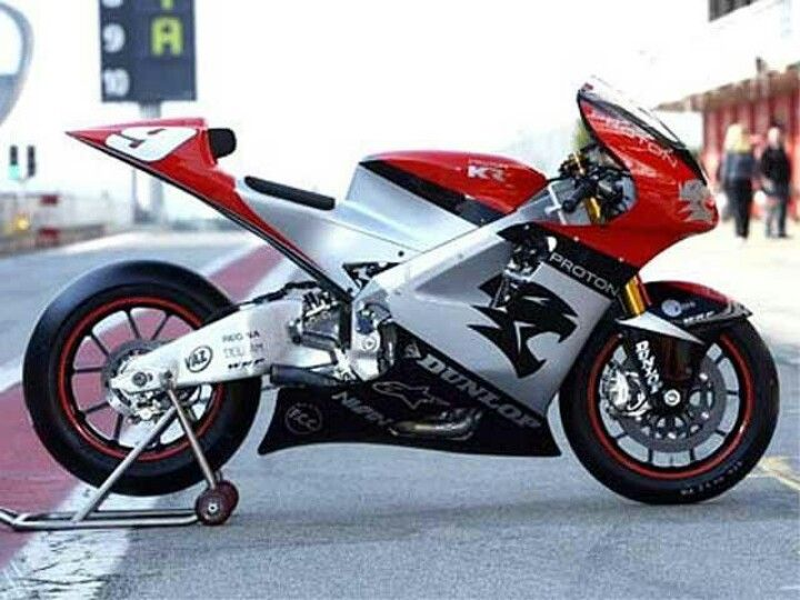 KRV5-R motogp bike. After years of racing then running Yamahas in the premier class Kenny Roberts created his own bike.