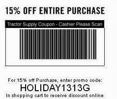 photo about Printable Tractor Supply Coupon titled Pin via Daniela Kraycirik upon discount coupons Tractor materials