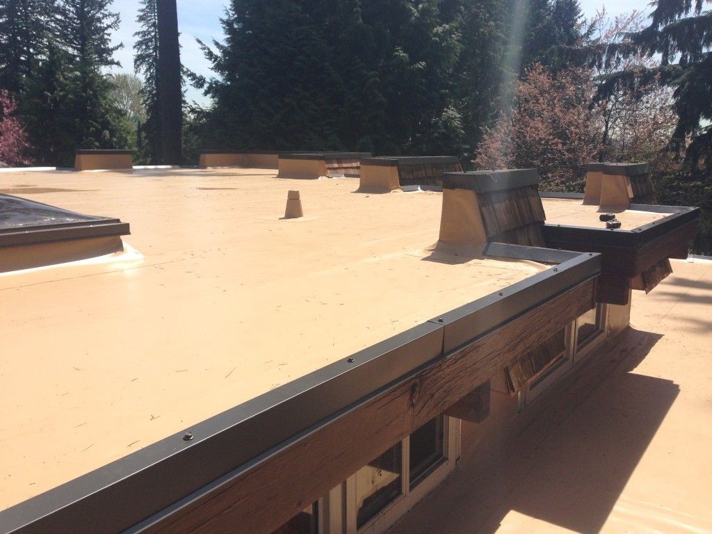 Why Going Over Top Of Your Existing Flat Roof Is Safe When Done Right Roofing Systems Emergency Roof Repair Residential Roofing