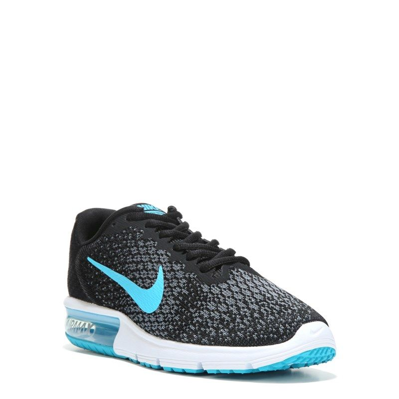 buy popular 7fe24 13a00 Nike Men s Air Max Sequent 2 Running Shoes (Black Blue Grey) - 13.0 M