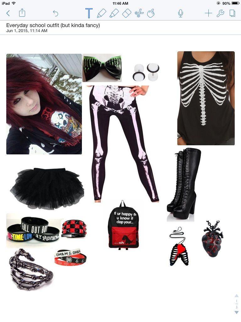 Tadaa what do u think i would so wear this btw xd scene hair for