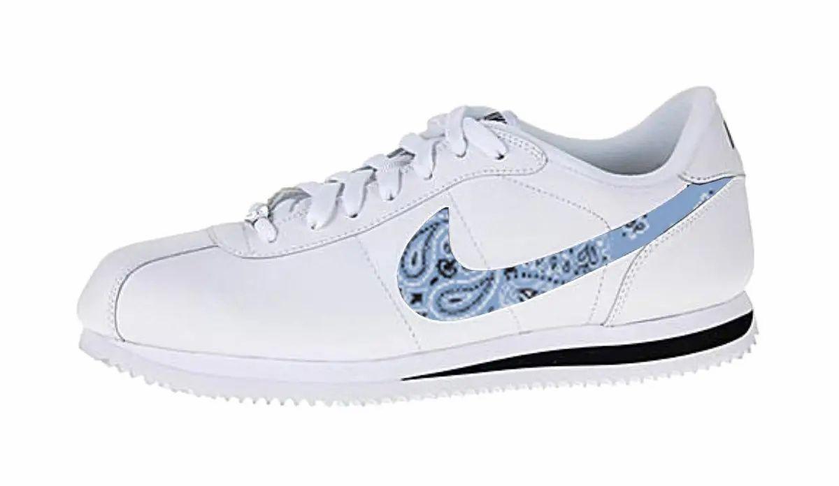 Carolina Blue Bandana Scarf Custom Nike