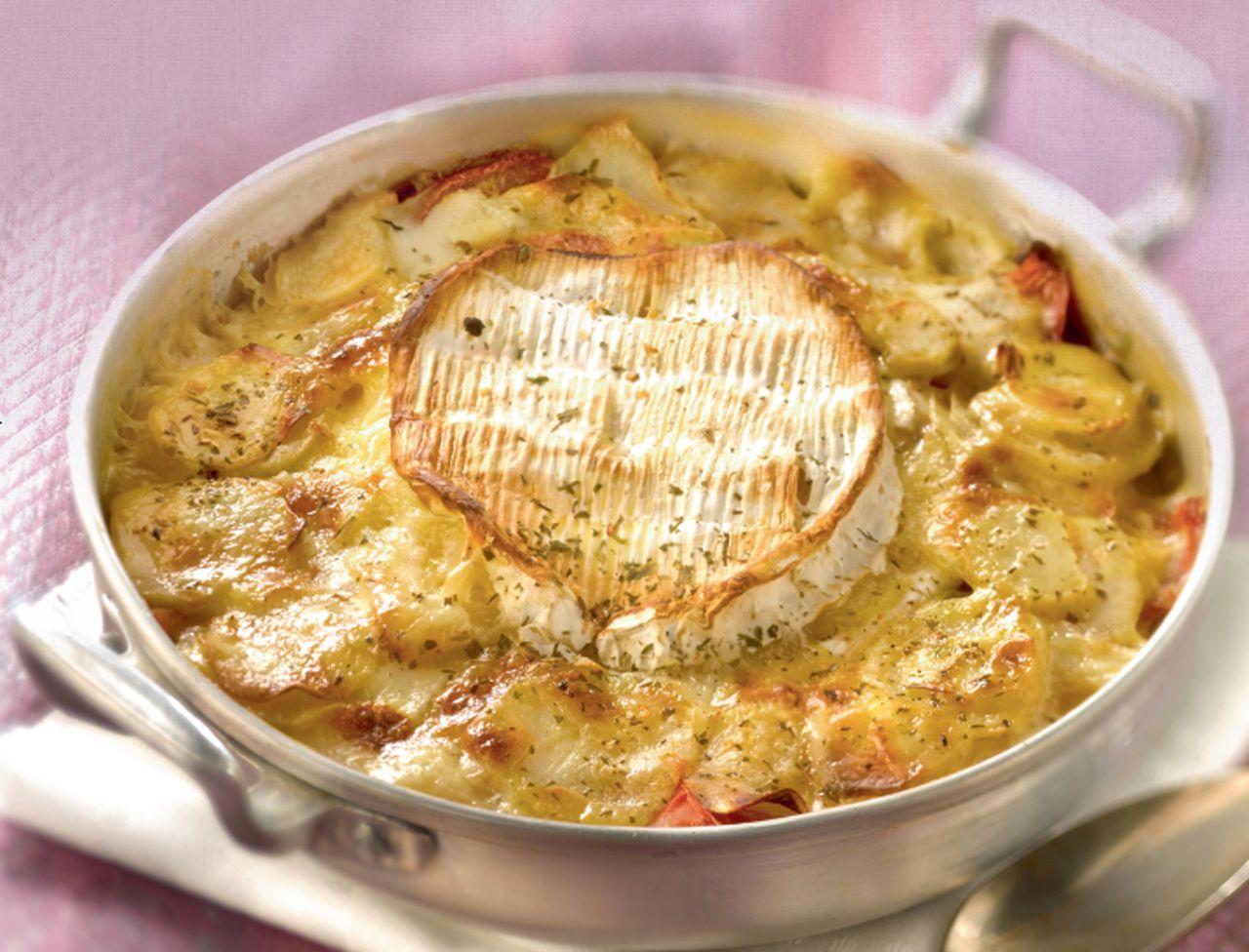 Gratin normand : découvrez les recettes de cuisine de Femme Actuelle Le MAG #recettesdecuisine