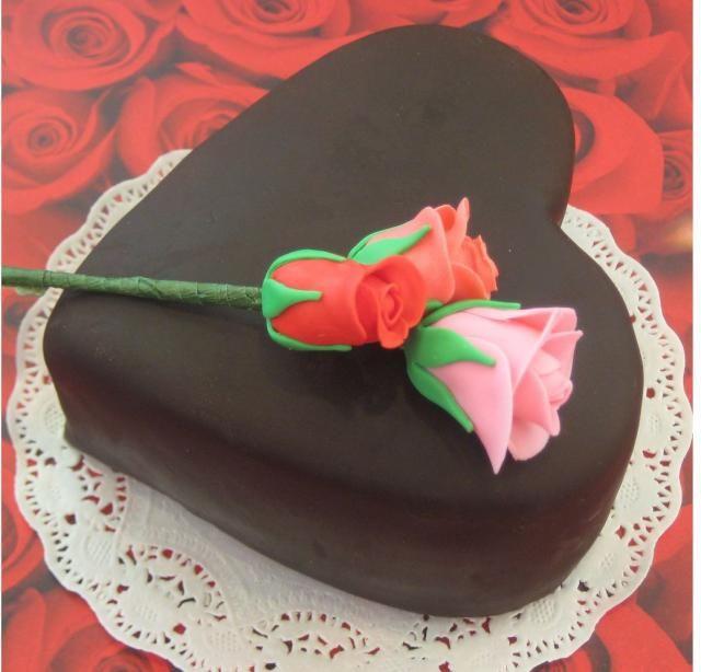 Chocolate Heart Shaped Valentines Day Cake Decorating Ideas Jpg Hi Res 720p Hd Valentines Day Cakes Cake Valentine Cake