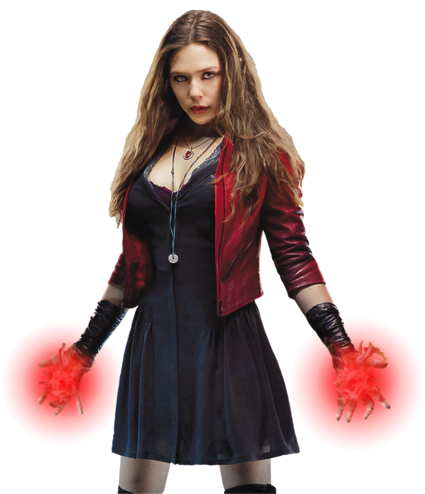 Avengers Scarlet Witch: Transparent Background! by Camo ...