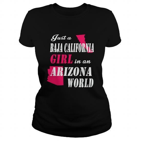 Baja California-Girl T-Shirts, Hoodies (24$ ===► CLICK BUY THIS SHIRT NOW!)