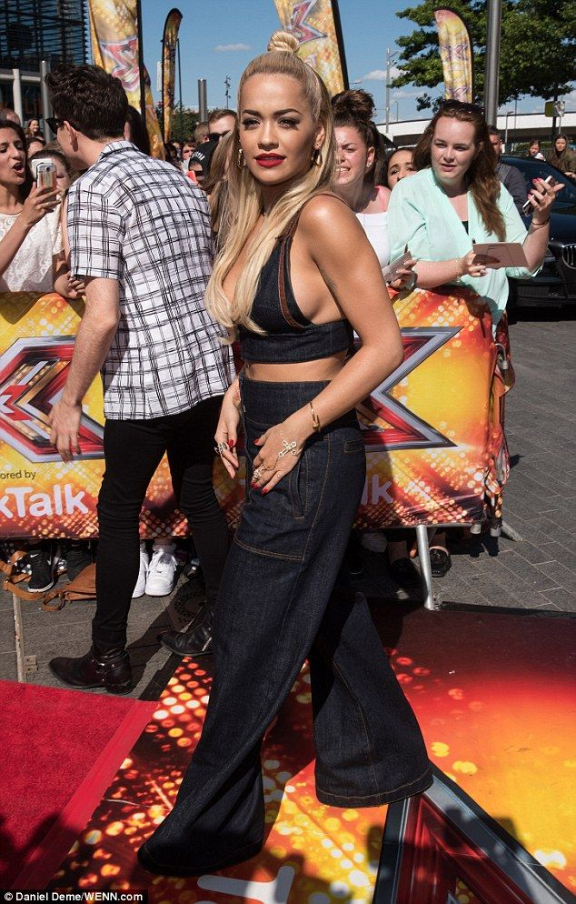 Moving on! Rita Ora looked to have put her recent love woes behind her as she rocked a 199...