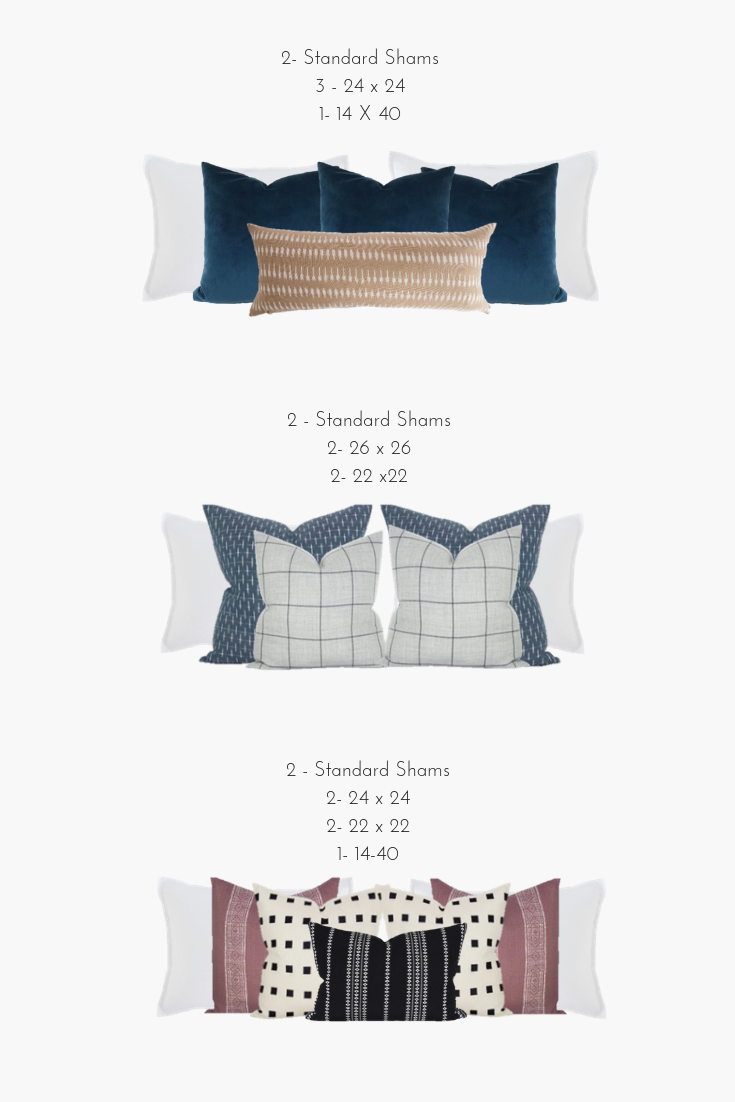 How to Style Your Pillows