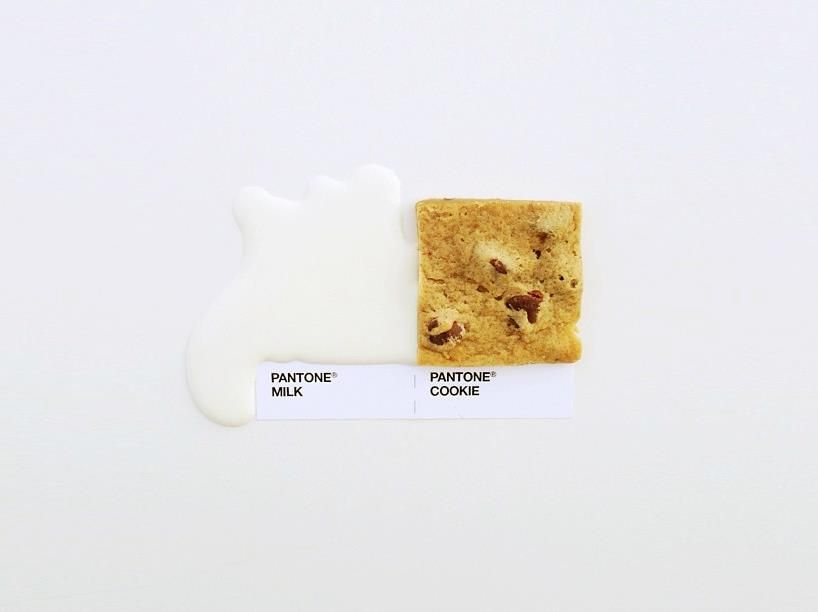 perfect food match by Pantone