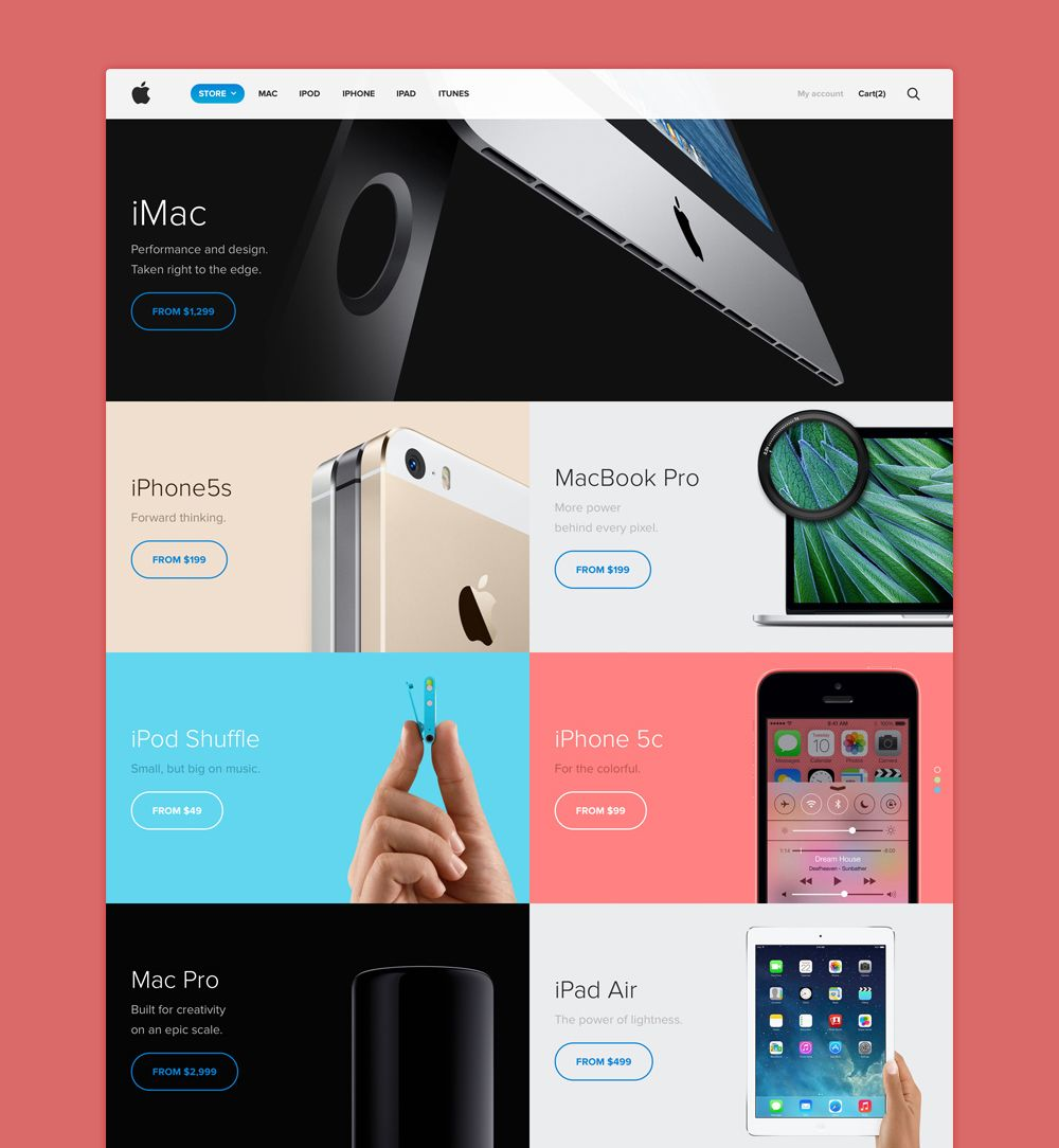 Theperfectgrid Web Layout Design Website Redesign Web Design Inspiration