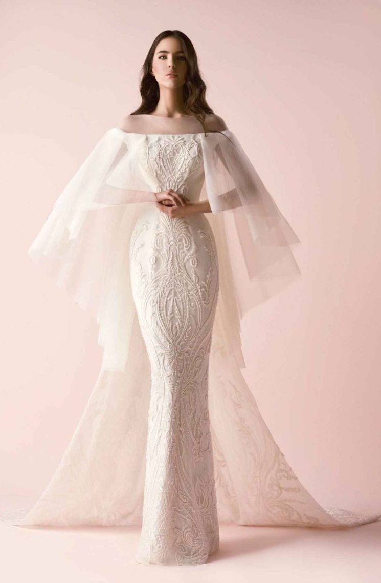 Saiid Kobeisy 2018 collection - Bridal | Lindo, Novios y Boda