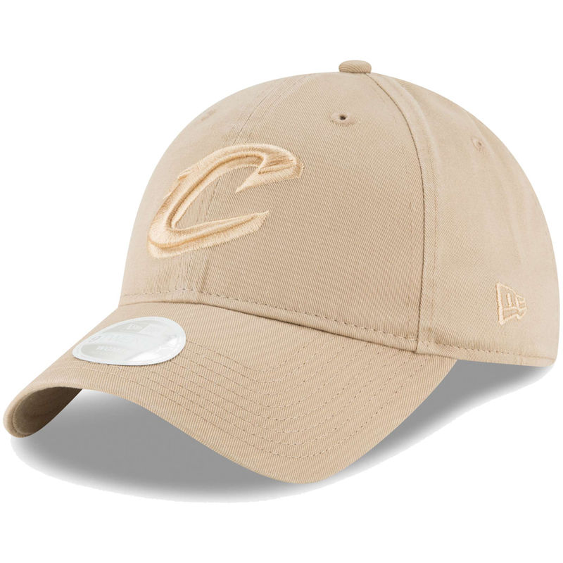e0ae1bbf Cleveland Cavaliers New Era Women's Core Classic 9TWENTY Adjustable Hat –  Tan