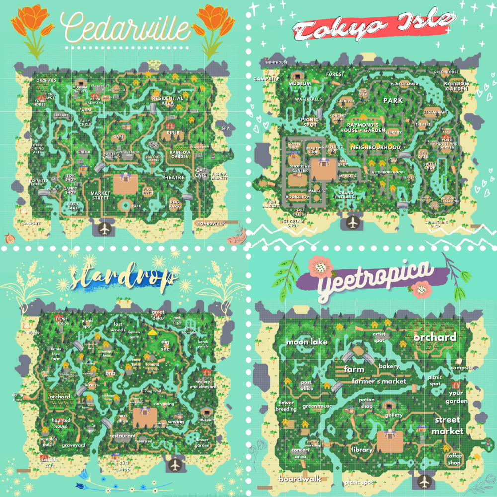 Laurentweet: I will design the animal crossing isl