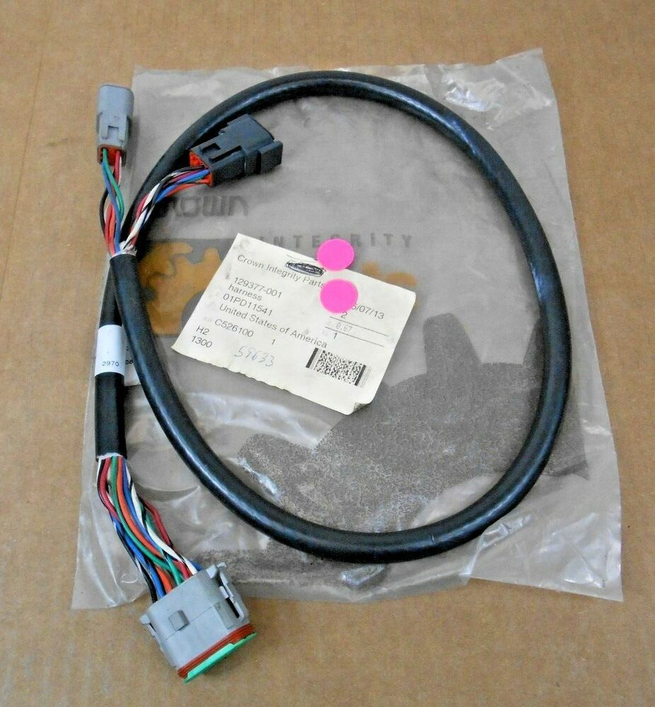 ebay #sponsored 1 nib crown 129377-001 129377001 forklift wiring harness