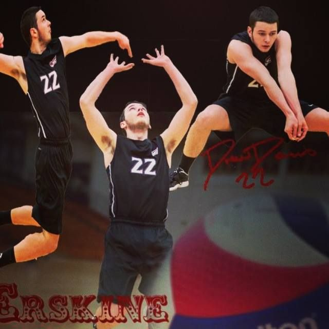 Erskine College Volleyball Player Drew Davis Volleyball Players Players Athlete