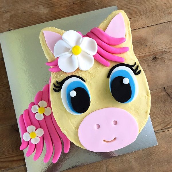 Photo of Flower Pony Birthday DIY Cake Kit | Cowgirl or Country Girl Party Ideas