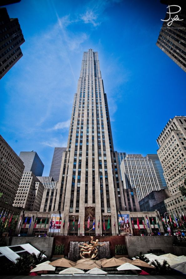 Rockefeller Center New York With Images Places To Go Places