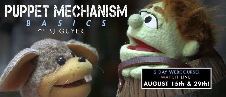 Character Creation Training & Special Effects Tutorials From the Masters of Monster Making