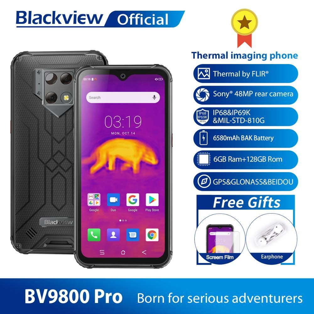 Blackview BV9800 Pro Global First Thermal imaging