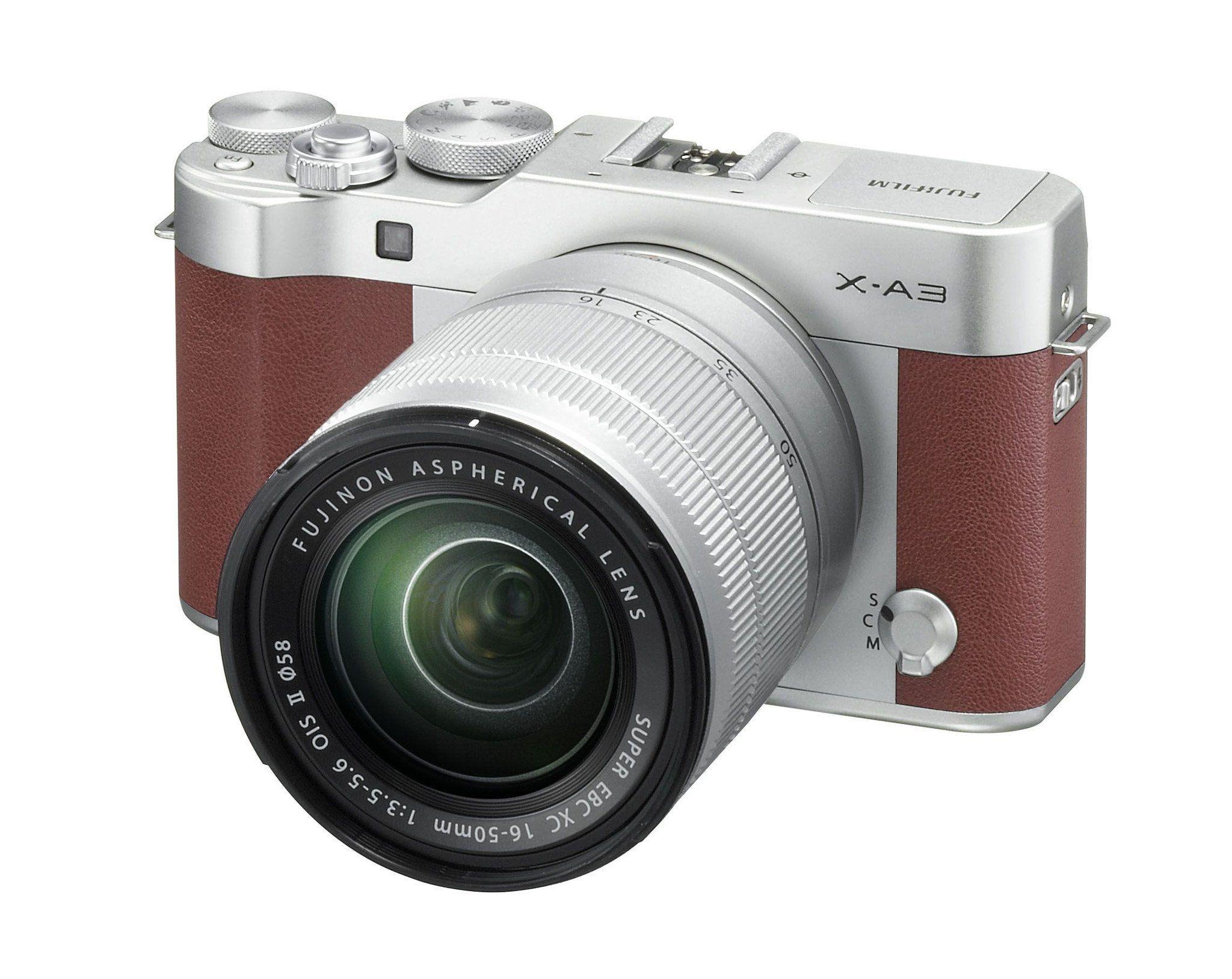 Fujifilm X A3 Brown Digital Camera With Xc 16 50mm F3 5 5 6 Lens In 2021 Cheap Cameras Mirrorless Camera Fujifilm Camera