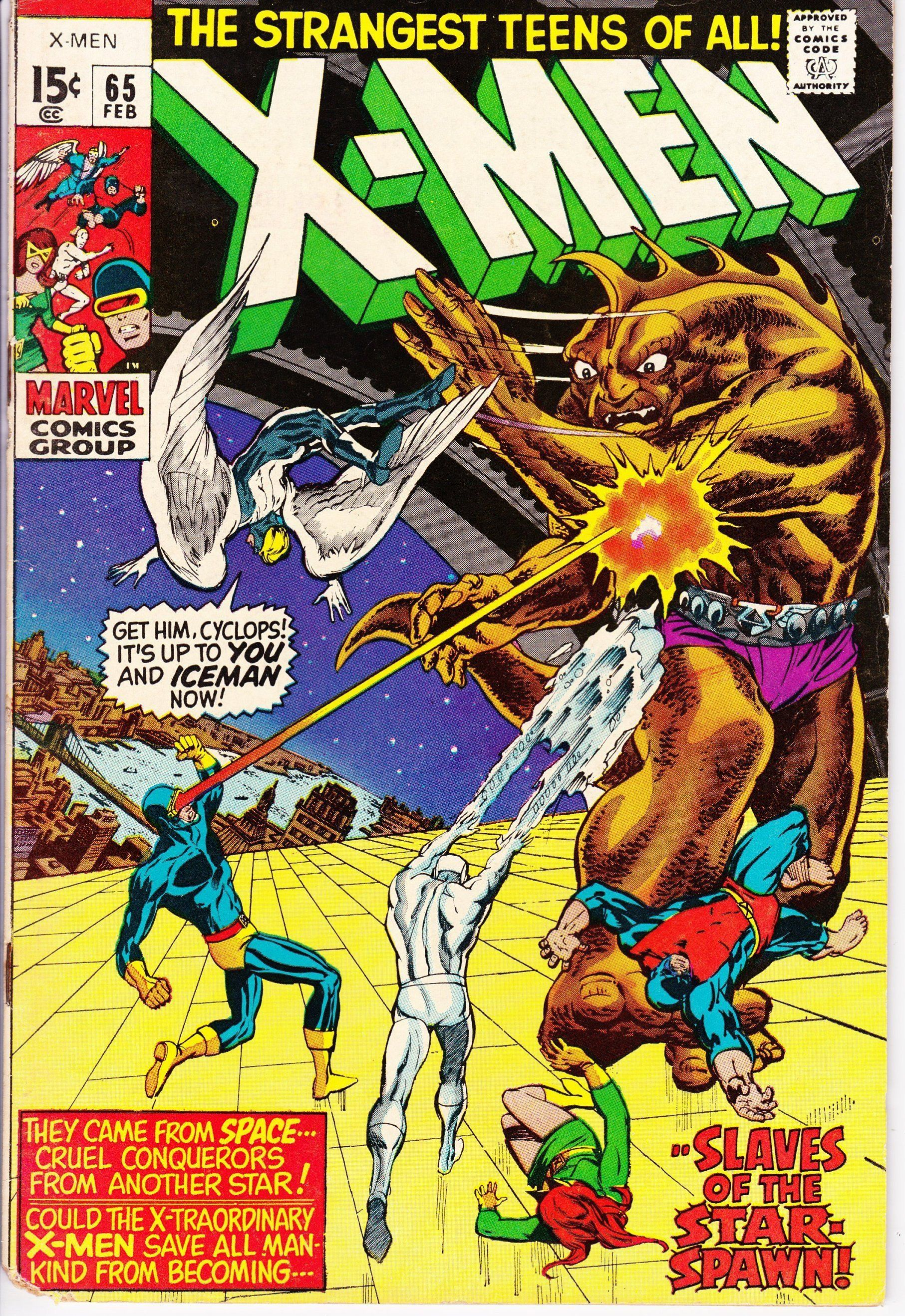 Uncanny X Men 65 1963 1st Series February 1970 Marvel Etsy Comics Silver Age Comics X Men