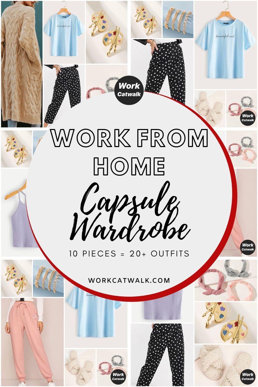Work from Home Capsule Wardrobe - Work Catwalk