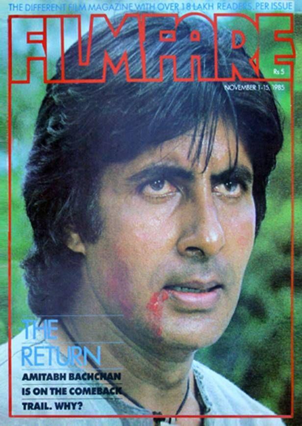 Birthday Blast Here S Presenting Best Of Millennium Star Amitabh Bachchan S Filmfare Covers Amitabh Bachchan Birthday Blast Vintage Bollywood