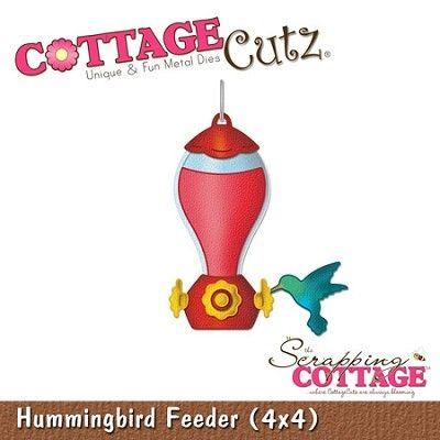 Cottage Cutz-4x4 Dies-Hummingbird Feeder