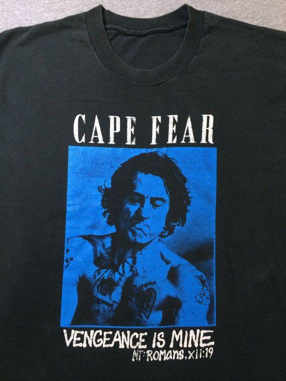 693033bc5 CAPE FEAR Shirt 90's Vintage Robert De NIRO by sweetVTGtshirt | bad ...