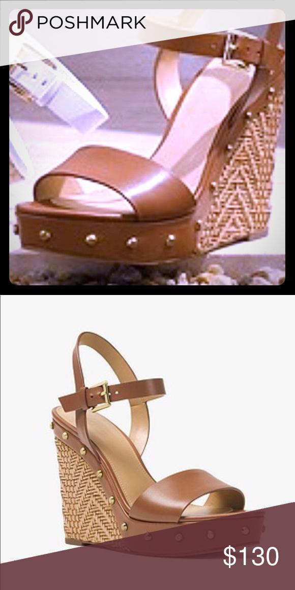 michael michael kors raquel studded suede sandal