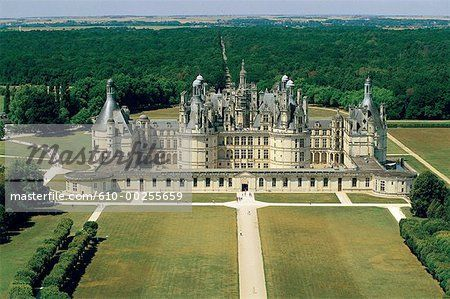 aerial view of castles - Google Search