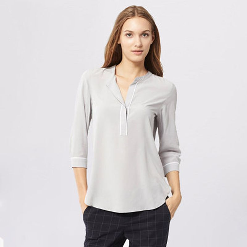 Camisas Camisa Mujeres Busto Y Gran Blusa Marca Para Mujer Femeninas Blusas Ropa La Tamaño Diseño De Gasa Tops 8nTxrH8