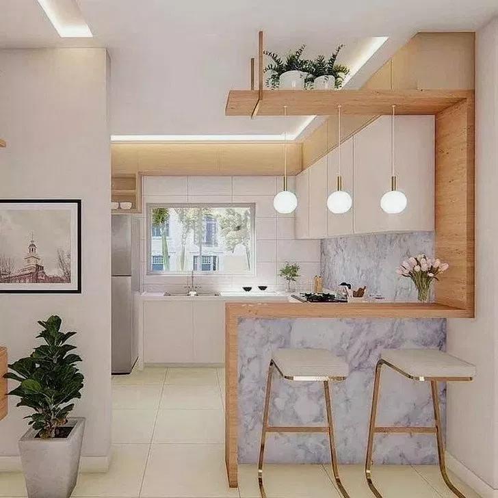 34 Awesome Modern Scandinavian Kitchen Ideas Awesomekitchen Kitchendesign Kitchenideas Ho Kitchen Design Small Home Decor Kitchen Interior Design Kitchen