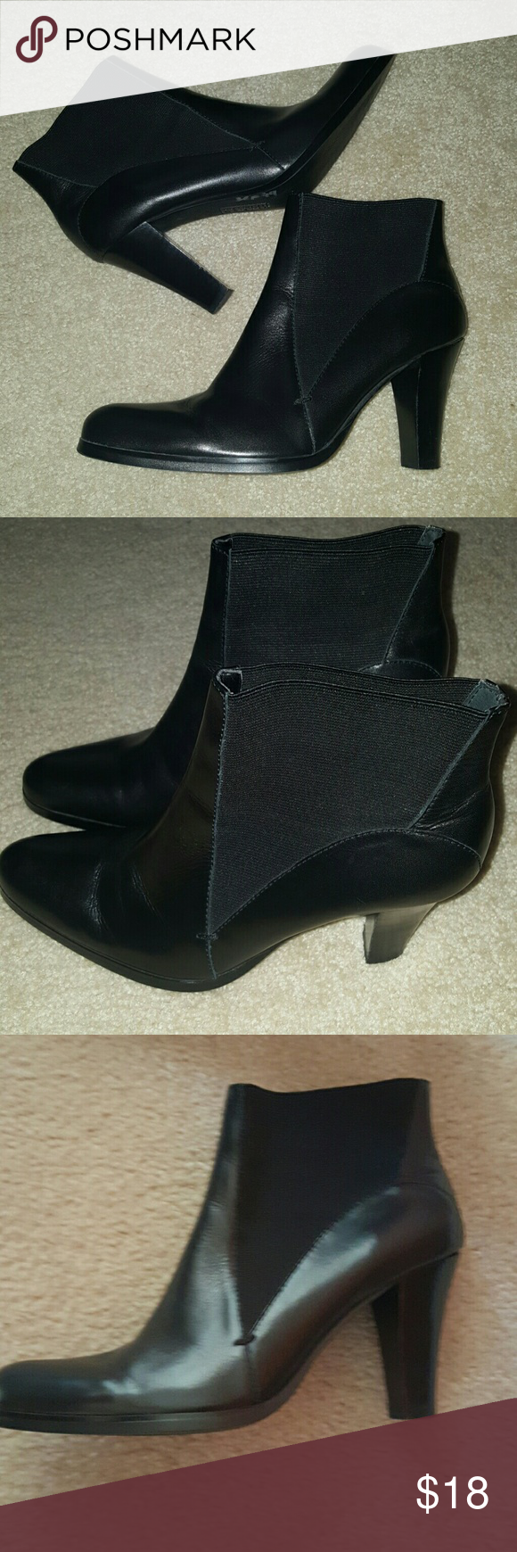 Franco Sarto Short Boots size 7.5 Short black Franco Sarto booties, never worn like new. Franco Sarto Shoes Ankle Boots & Booties
