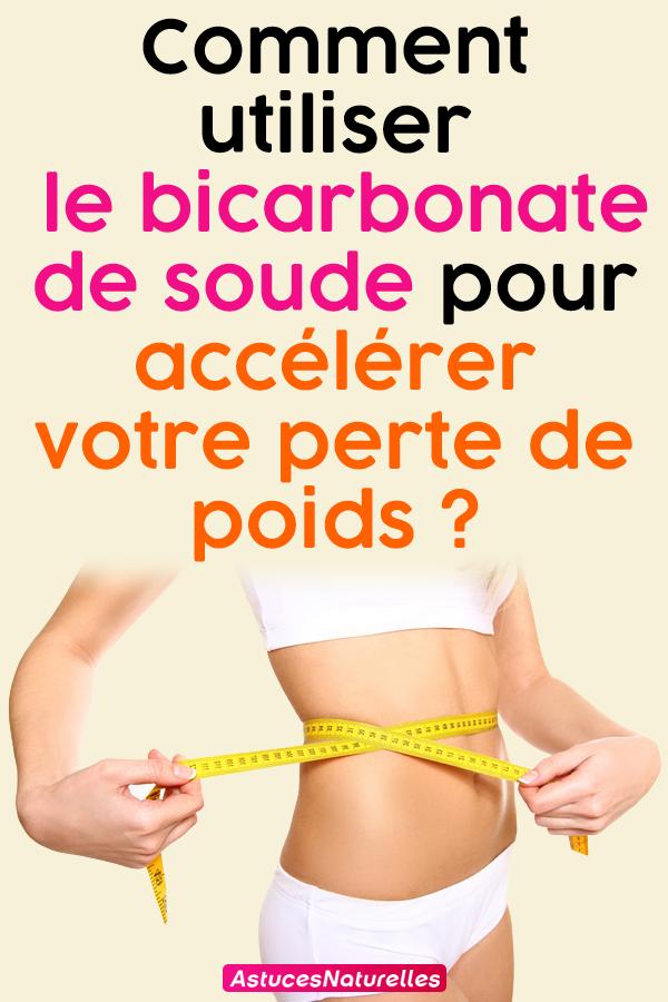 Comment utiliser le bicarbonate de soude pour accélérer votre perte de poids ?
