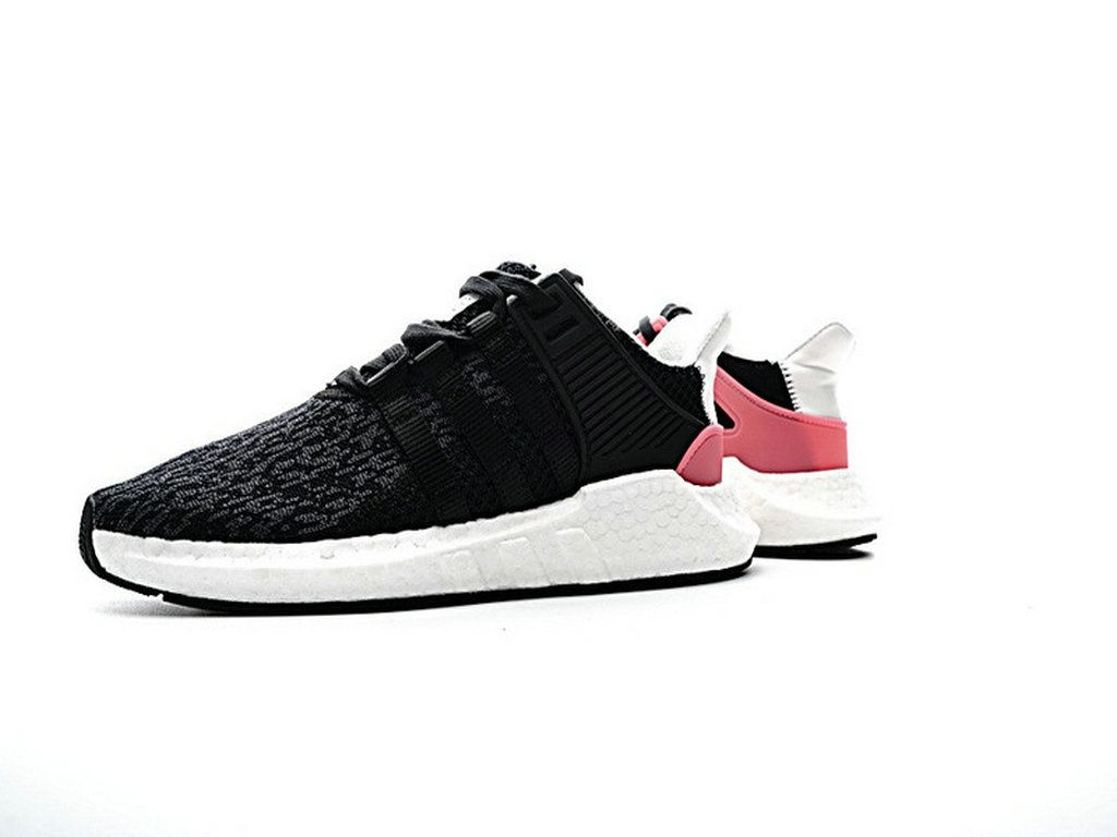 f766bec17198 Adidas EQT Support 93 17 Core Black Turbo Pink White Ultra Boost Pk Bb1234  Shoe