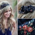 I've always wanted to be a part of the headband trend, but I can't ever seem to find ones I like... now I can make them!