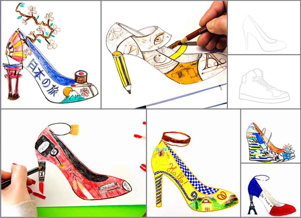 Shoe Design 2 Worksheets