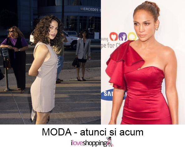 Jennifer Lopez - atunci si acum